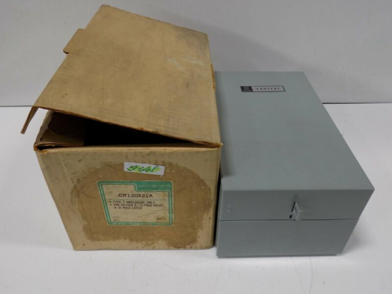 GENERAL ELECTRIC TYPE 1 ENCLOSURE ONLY  CR120X21A NIB