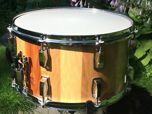 "Brand new 14""x8"" solid wood snare drum"