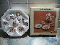 Steiff Mini - Porzellan - Set Dekor : Bärle 1904 Niedersachsen - Rhauderfehn Vorschau