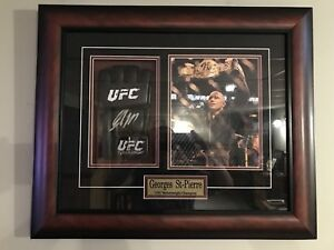 GSP signed picture frame with certificate