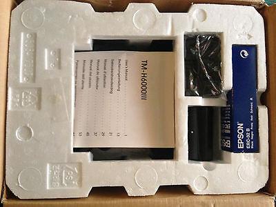 Epson Tm-h6000iii Gray Thermaldot Matrix Pos Receipt Printer M147g