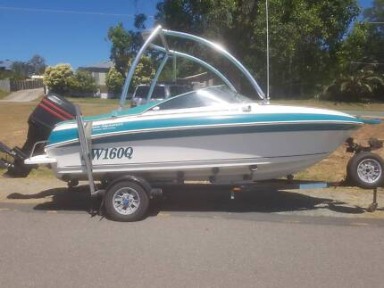 Haines Signature  520BR,115hp Mercury and Trailer,Excel Cond!!!!