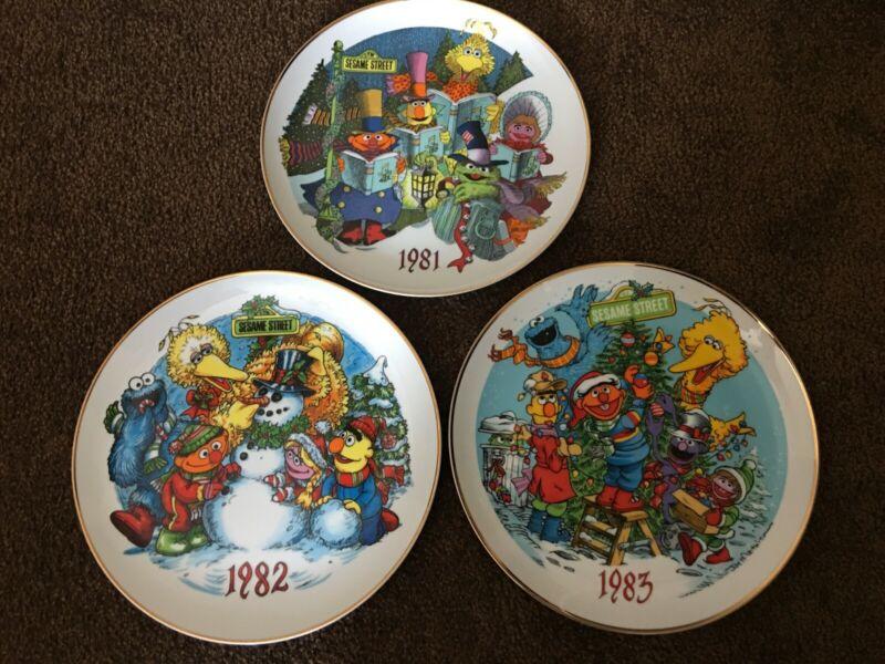"""Set of 3 Vintage 1980"