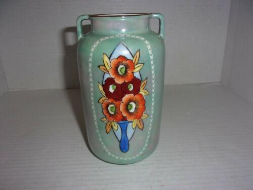 1924 Japan Nippon Lustreware Vase