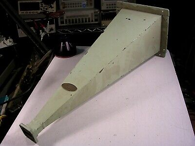 Waveguide Wr112 Std Horn With Mounting Frame Used