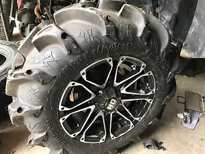 New Polaris quad tires/rims