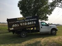 JUNK AND GARBAGE REMOVAL CALGARY 403-510-8674