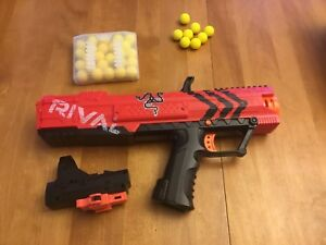 Nerf Rival gun (with upgrades)