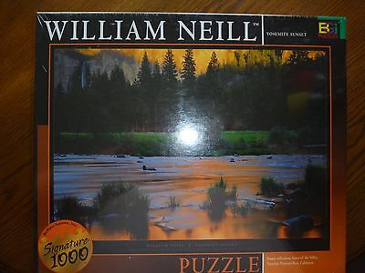 "Buffalo Games~1026 PIECE Puzzles~WILLIAM NEILL~YOSEMITE SUNSET~27""x 20"" NEW"
