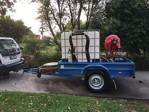 Fire Pump Trailer Blaxland Blue Mountains Preview