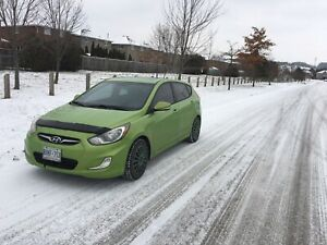 Fully Loaded 2013 Hyundai Accent, manual transmission.