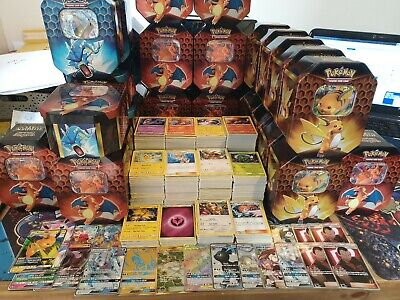 50 x Pokemon Cards Bundle! Joblot Including Rares & Holos - 100% Genuine Cards