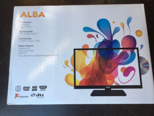 Alba 19 Inch VL19HDLED-D HD Ready 720p Freeview LED TV/DVD Combi - Black
