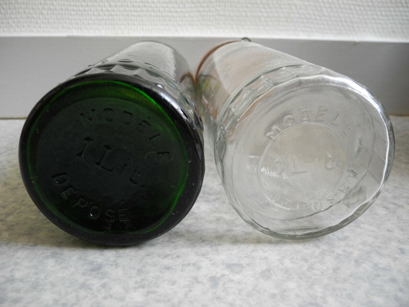 Anciens bocaux fruits verre mottet conserves pots rangement déco old jar rétro