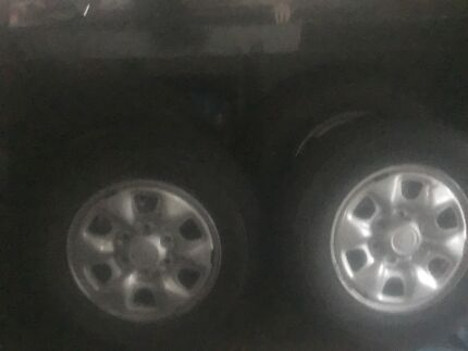 Toyota hilux rims and tyres brand new