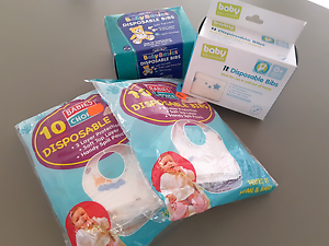 Disposable baby bibs Huntingdale Gosnells Area Preview