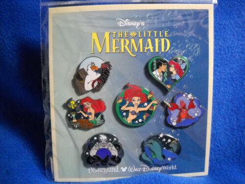 The Little Mermaid - 7 Pin Booster Set Disney
