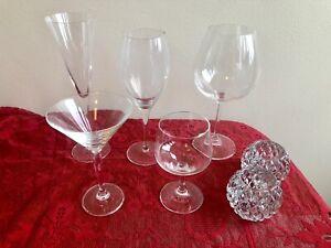 Genuine crystal glasses