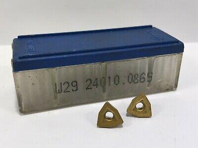 Komet W29 24010.0869 New Carbide Inserts 10pcs