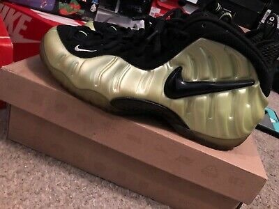 5733512449 Nike Air Foamposite Pro Electric Green/Black Size 9 Shoes 624041-300 Good  Cond!