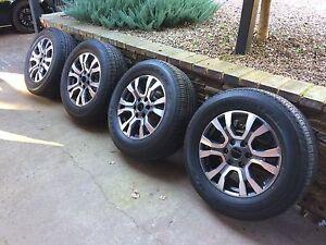 Ford NEW Wildtrak Rims + Tyres Littlehampton Mount Barker Area Preview