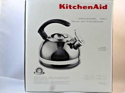 KitchenAid 2.0-Quart Kettle Porcelain Enamel - KTEN20CBPR