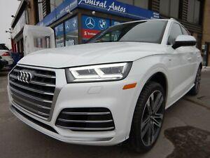 2018 Audi SQ5 3.0T Progressiv ***RED INT, FULL LOAD***