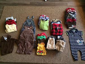 Baby boy's clothes sizes 3-12 months