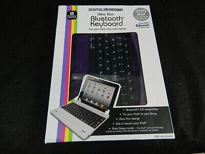 DIGITAL GADGETS ULTRA THIN BLUETOOTH KEYBOARD IPAD 2ND, 3RD & 4TH GENERATION for sale  Shipping to India