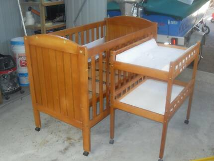 "Cot & Change Table  :   ""Flinders"" Childcare Brand & others Coombabah Gold Coast North Preview"