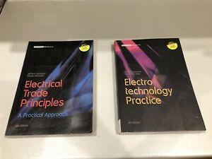 Electrician Books - electrical trade technology principles