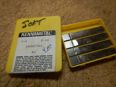 New Kennametal Lathe Bits 38 Carbide Tipped Machinist Tooling Lot 183c