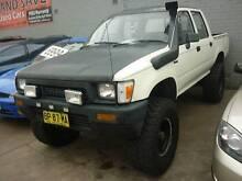 1990 Toyota Hilux Ute 4X4 DIESEL Clyde Parramatta Area Preview