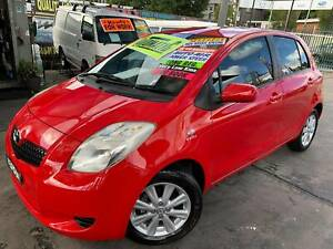 """TOYOTA YARIS 2008 """"AUTO"""" 5 DOOR VERY LOW 43,860 KLM LONG FEB21 REG*5Y Bass Hill Bankstown Area Preview"""