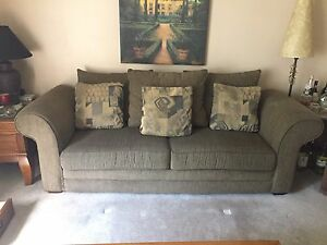 Sofa & Loveseat Couches with 4 Pillows - Great Condition