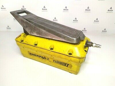 Enerpac Pat1102n Turbo Air Hydraulic Handfoot Operated Pump 700 Bar