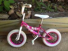 Girls balance bike and Princess pedal bike Maleny Caloundra Area Preview