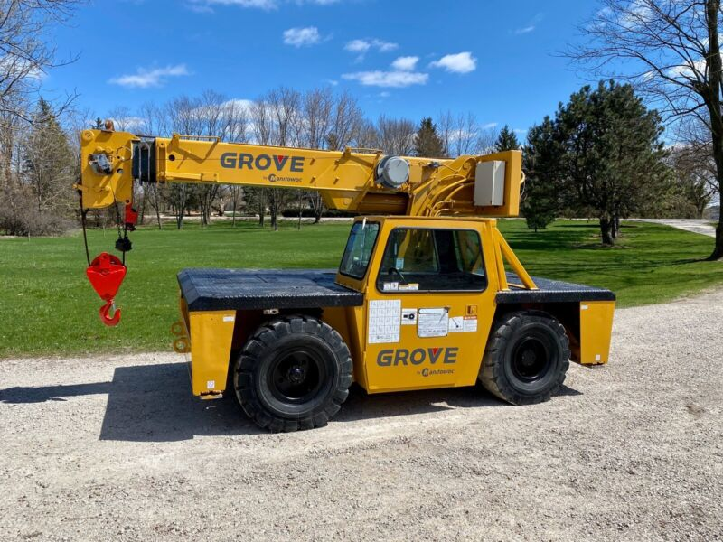 Grove AP308 Carry Deck Crane 8.5 Ton 17,000 Lb