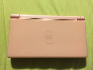 Pink Nintendo DS with 1 Game, Charger, and Case