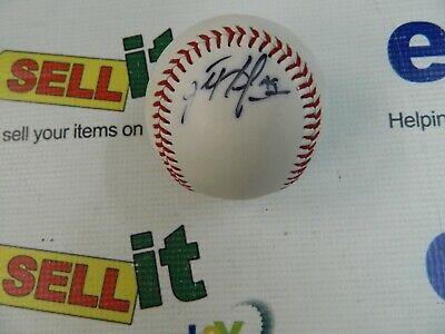 Cleveland Indians Rock (Cleveland Indians -JOHN ROCKER -  Autographed baseball  )