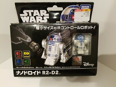 Used,  Star Wars Nano Droid R2-D2 Remote Control Robot Toy Japan TAKARA TOMY  for sale  Shipping to Ireland