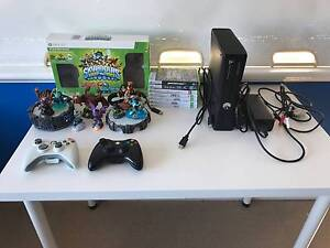 Xbox 360 S - 250GB. Controllers and games Cottesloe Cottesloe Area Preview