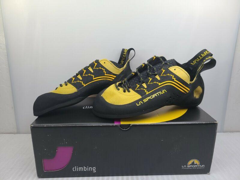La Sportiva Katana Lace Vibram XS Edge Climbing Shoes Mens 8 Womans 9 NEW IN BOX