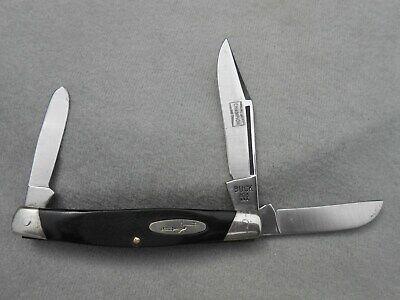 OLD VINTAGE RARE BUCK 303 USA STOCKMAN KNIFE CHAMPION SPARK PLUG ADVERTISING