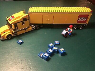 Lego City 3221 Yellow Truck COMPLETE