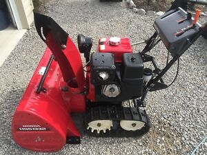 Honda 1332 snowblower