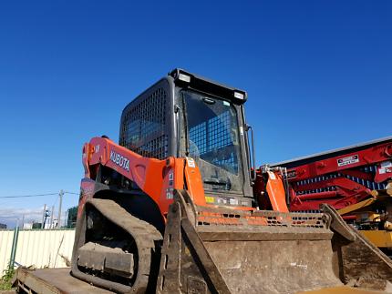 Kubota SVL75 posi track, positrack, skidsteer swap for excavator