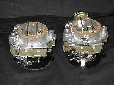 1957-1961 Dual Quad Carter WCFB Carburetors Corvette Chevy 283 245HP 2626s 2627s