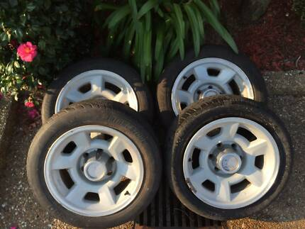Holden Rodeo 16 inch Tyre Rims Barden Ridge Sutherland Area Preview