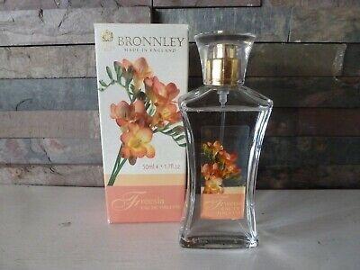 Bronnley England Freesia Perfume Spray Edt 50ml Boxed (SPRAYED ONCE)